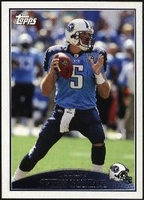 2009 Topps Kerry Collins NFL Football Card