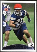 2009 Topps Kevin Ellison Rookie NFL Football Card