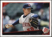 2009 Topps Kevin Slowey Baseball Card