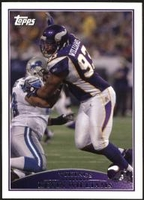 2009 Topps Kevin Williams NFL Football Card