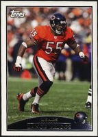 2009 Topps Lance Briggs NFL Football Card