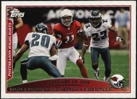 2009 Topps Larry Fitzgerald Postseason Highlights NFL Football Card