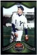 2009 Topps Legends of The Game Christy Mathewson Baseball Card