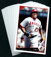 2009 Topps Los Angeles Angels of Anaheim Baseball Cards Team Set