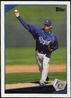 2009 Topps Luke Hochevar Baseball Card