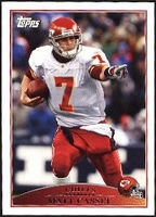 2009 Topps Matt Cassel NFL Football Card