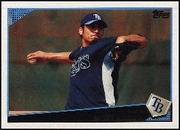 2009 Topps Matt Garza Baseball Card