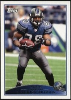 2009 Topps Maurice Morris NFL Football Card