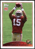 2009 Topps Michael Crabtree Rookie NFL Football Card