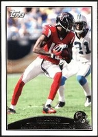 2009 Topps Michael Jenkins NFL Football Card