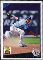 2009 Topps Mike Aviles Baseball Card