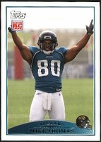 2009 Topps Mike Thomas Rookie NFL Football Card