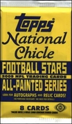 2009 Topps National Chicle NFL Football Cards Hobby Pack