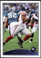 2009 Topps Osi Umenyiora NFL Football Card