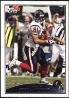 2009 Topps Owen Daniels NFL Football Card