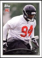 2009 Topps Peria Jerry Rookie NFL Football Card