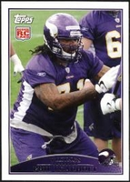 2009 Topps Phil Loadholt Rookie NFL Football Card