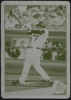 2009 Topps Printing Plates Yellow Khalil Greene Baseball Card