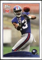 2009 Topps Ramses Barden Rookie NFL Football Card