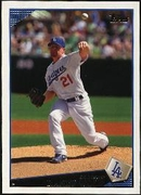 2009 Topps Randy Wolf Baseball Card