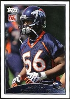 2009 Topps Robert Ayers Rookie NFL Football Card
