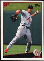2009 Topps Ryan Ludwick Baseball Card