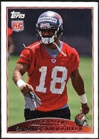 2009 Topps Sammie Stroughter Rookie NFL Football Card