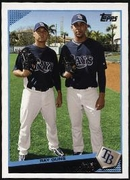 2009 Topps Scott Kazmir & David Price Classic Combos Baseball Card