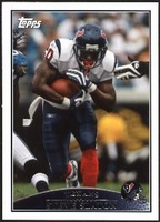 2009 Topps Steve Slaton NFL Football Card