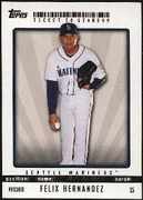 2009 Topps Ticket to Stardom Felix Hernandez Baseball Card