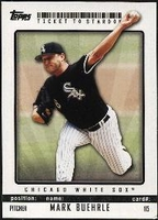 2009 Topps Ticket to Stardom Mark Buehrle Baseball Card