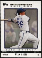 2009 Topps Ticket to Stardom Ryan Freel Baseball Card