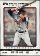 2009 Topps Ticket to Stardom Victor Martinez Baseball Card