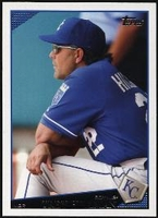 2009 Topps Trey Hillman Manager Baseball Card