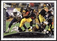 2009 Topps Willie Parker Postseason Highlights NFL Football Card