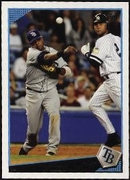 2009 Topps Willy Aybar Baseball Card