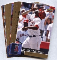 2009 Upper Deck First Edition Los Angeles Angels of Anaheim Baseball Cards Team Set