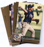 2009 Upper Deck First Edition San Diego Padres Baseball Cards Team Set