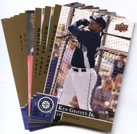 2009 Upper Deck First Edition Seattle Mariners Baseball Cards Team Set