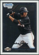 2010 Bowman Chrome Prospects Francisco Peguero Baseball Card