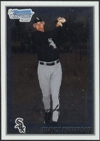 2010 Bowman Chrome Prospects Trayce Thompson Baseball Card
