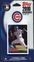 2010 Chicago Cubs Topps MLB Factory Baseball Cards Team Set