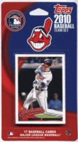 2010 Cleveland Indians Topps MLB Factory Baseball Cards Team Set