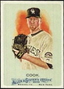 2010 Topps Allen and Ginter Aaron Cook Baseball Card