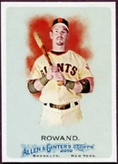 2010 Topps Allen and Ginter Aaron Rowand SP Baseball Card