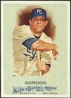 2010 Topps Allen and Ginter Alex Gordon Baseball Card
