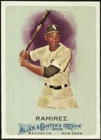 2010 Topps Allen and Ginter Alexei Ramirez Baseball Card