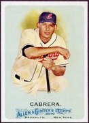 2010 Topps Allen and Ginter Asdrubal Cabrera SP Baseball Card