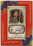 2010 Topps Allen and Ginter Autographs Pablo Sandoval Baseball Card