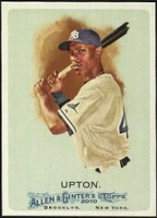 2010 Topps Allen and Ginter B.J. Upton Baseball Card